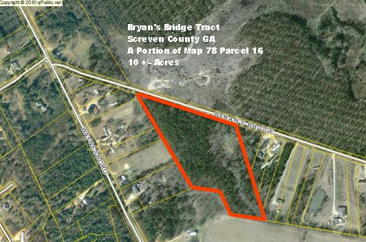 Screven County Ga 10 Acres Green Hill Land And Timber Llc