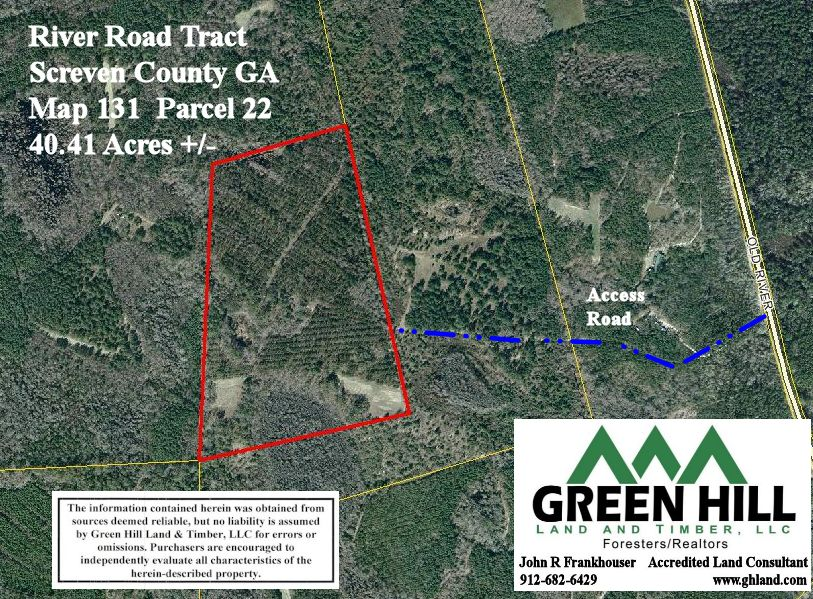 Screven County Ga 40 41 Acres Green Hill Land And