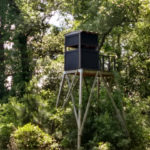 Sycamore Farm - Tower Stand overlooking Shooting Lanes