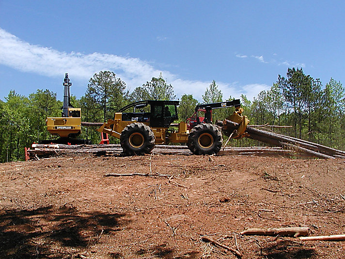 cat log skidder